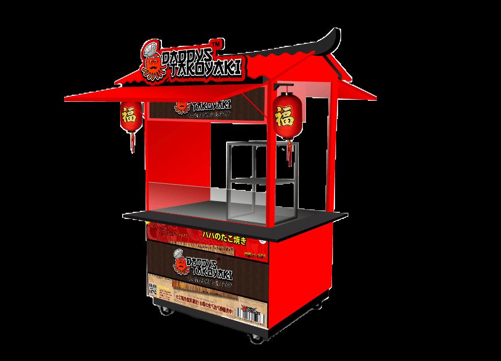 Platinum Investasi Booth waralaba daddys takoyaki