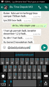 Testimoni mitra daddys takoyaki Bu Tina (depok)