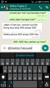 Testimoni mitra daddys takoyaki Pak Fajri Yulianto (Bandung)