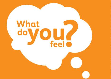 apa yang anda rasakan