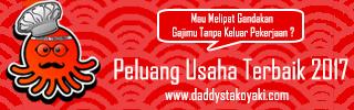 Promo Awal Tahun Daddys Takoyaki 2017