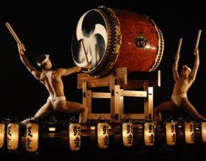 Seni Instrumen perkusi di Jepang