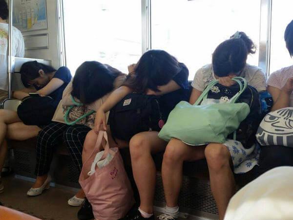 budaya tidur di jepang